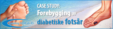 Tønsberg Medlab CaseStudies_ForebyggingDiabetiskeFotsar